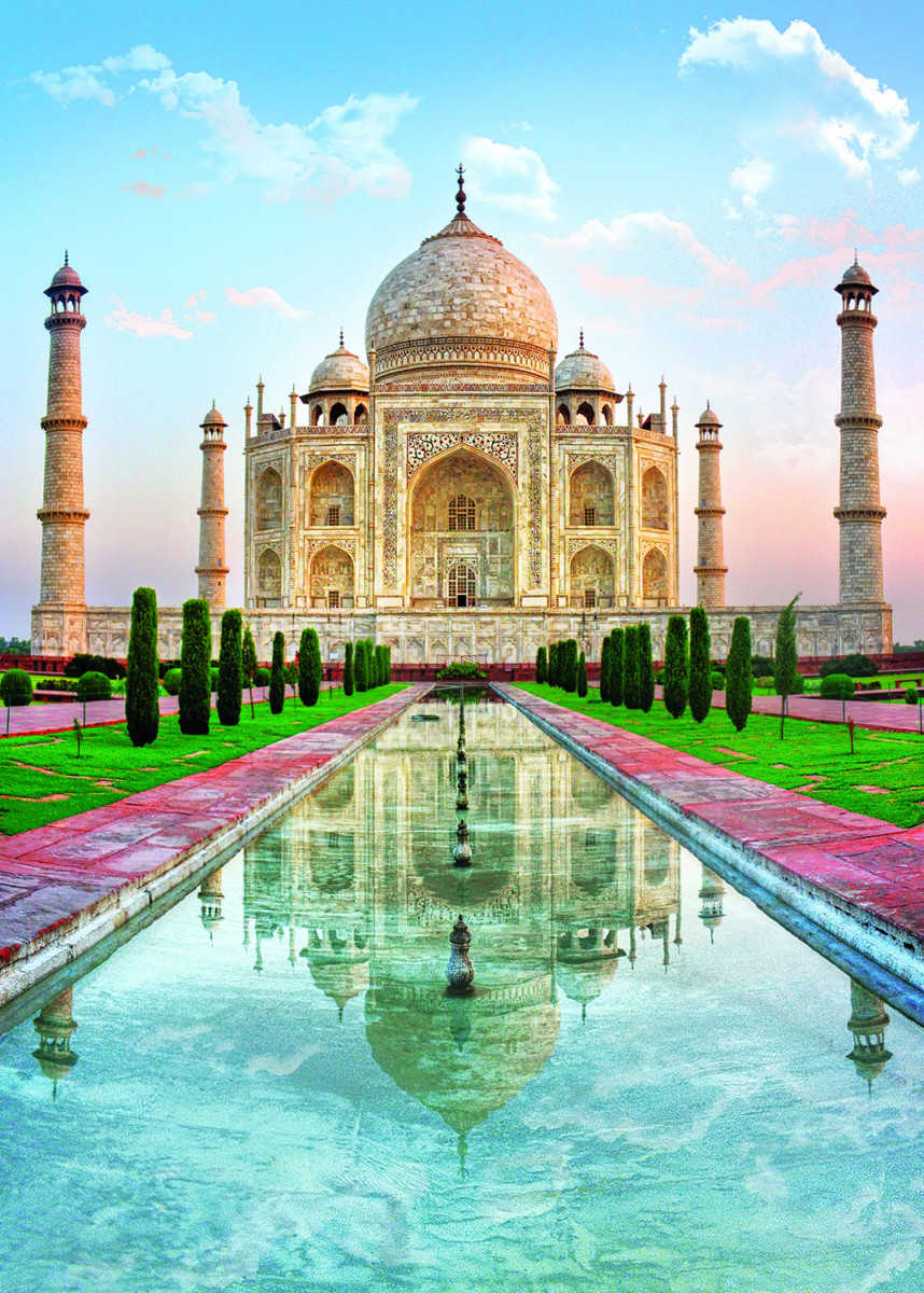 Taj Mahal Landmarks / Monuments Jigsaw Puzzle