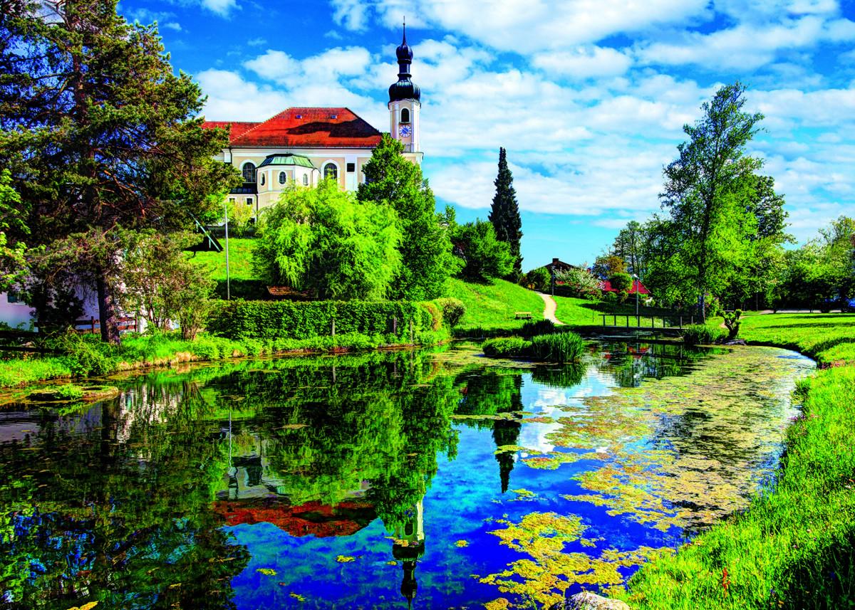 Chiemsee Lake, Bavaria Landscape Jigsaw Puzzle