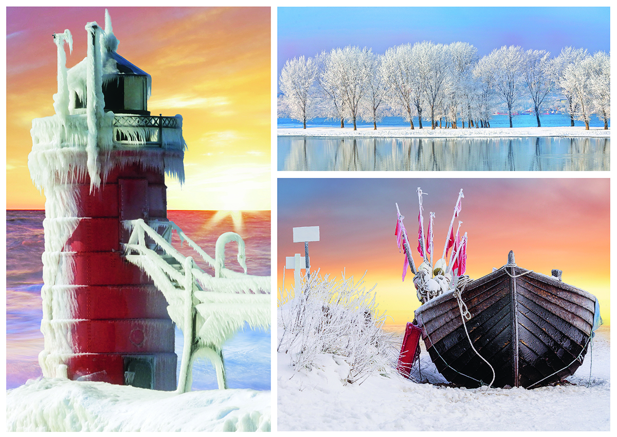 Winter Lighthouses Jigsaw Puzzle