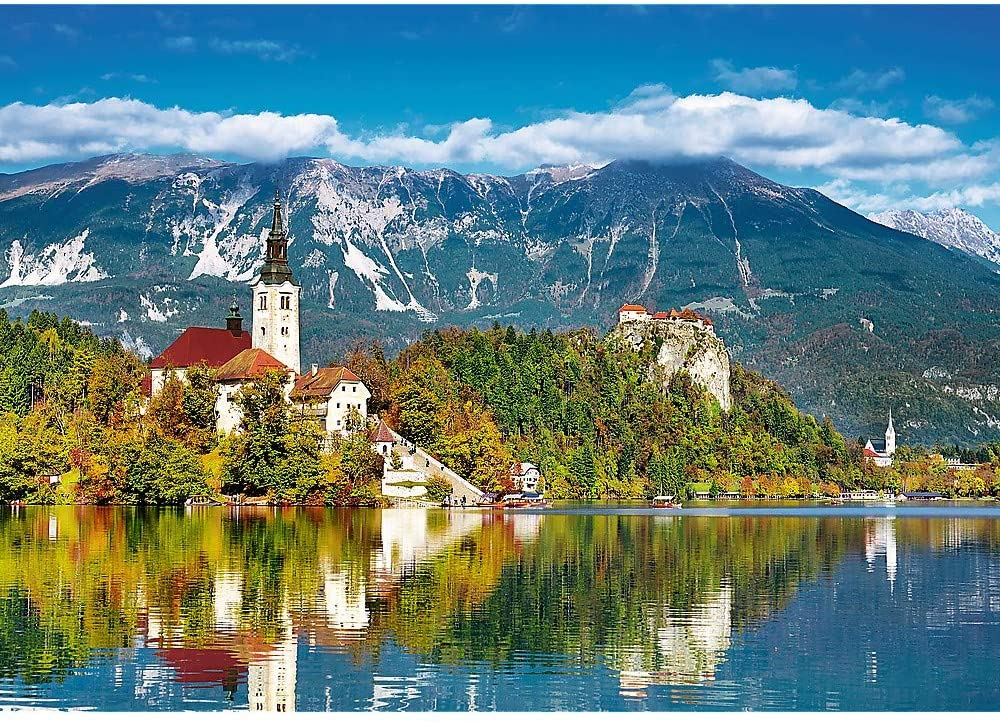 Bled, Slovenia Mountains Jigsaw Puzzle
