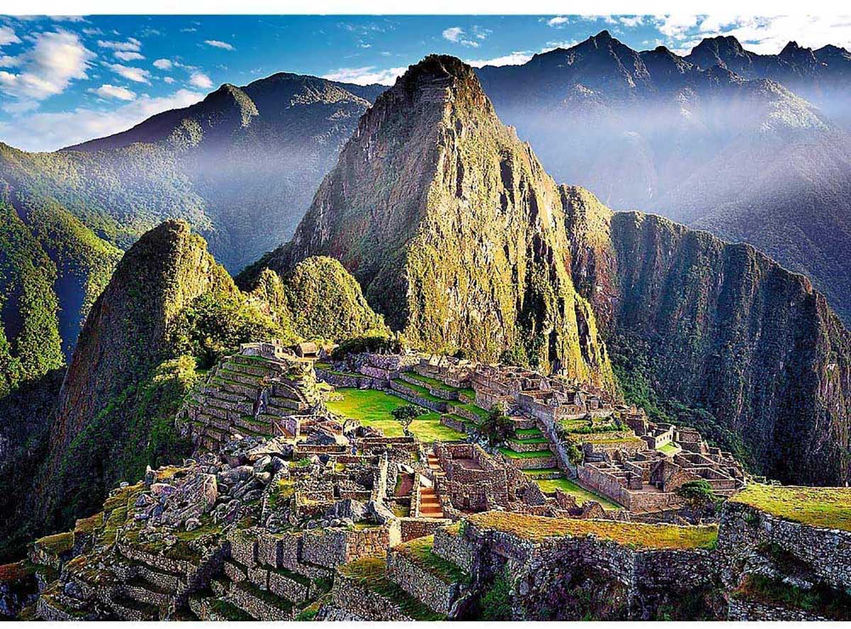 Historic Sanctuary Of Machu Picchu Travel Jigsaw Puzzle