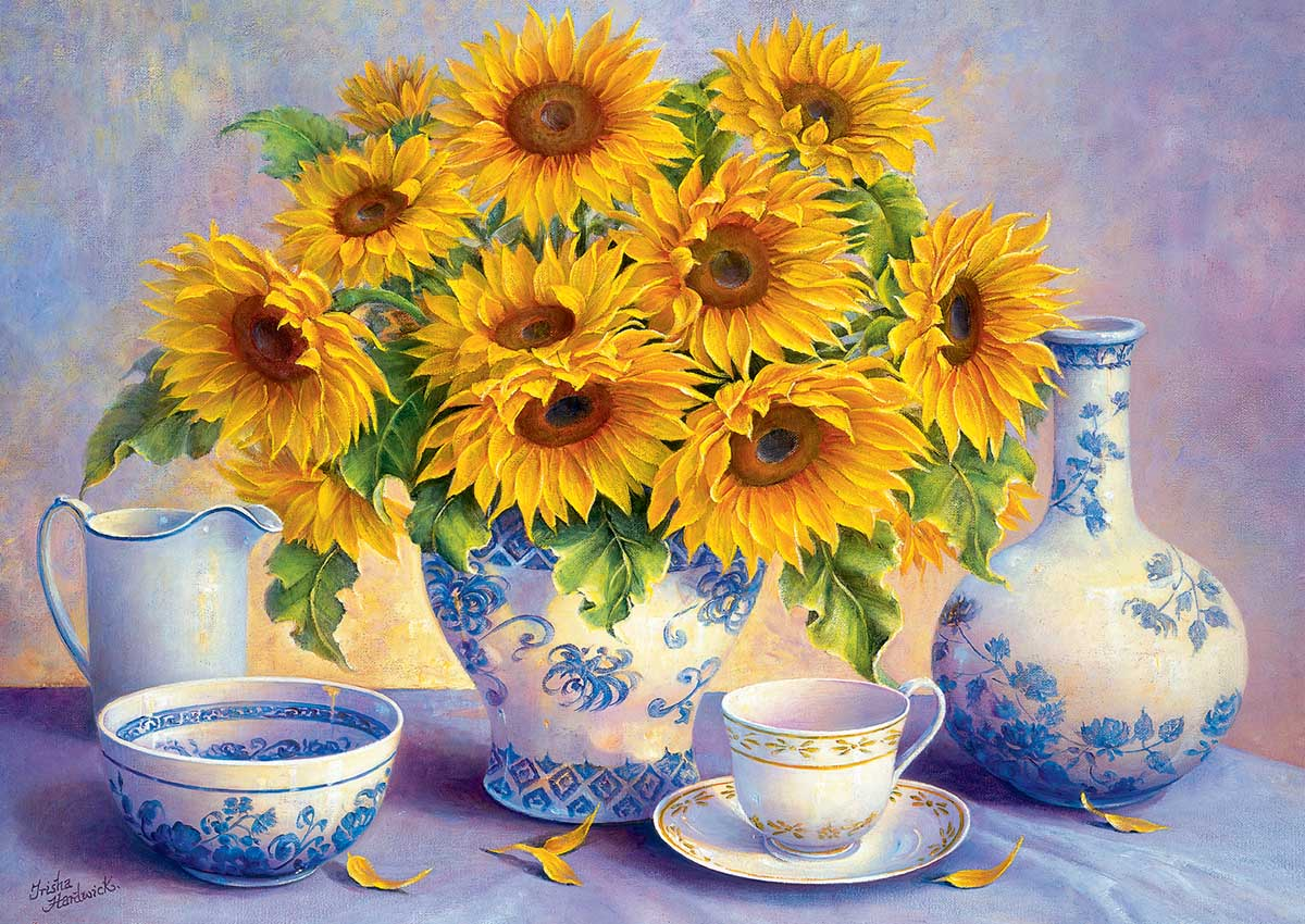 Sunflowers Flowers Jigsaw Puzzle