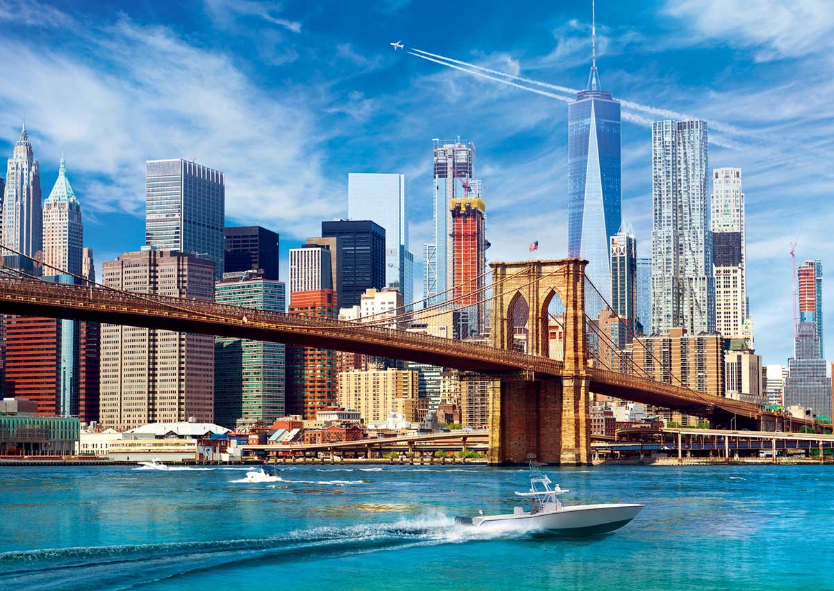 View of New York Skyline / Cityscape Jigsaw Puzzle