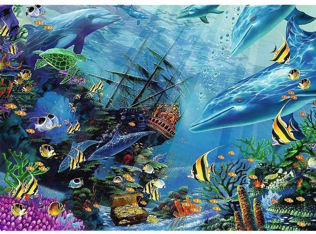 Hidden Treasure Under The Sea Jigsaw Puzzle