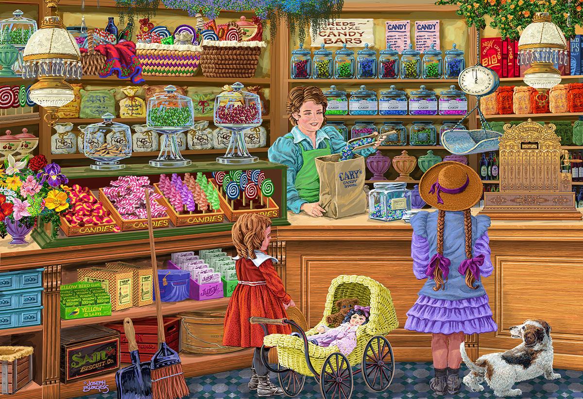 Candy Adventure L Nostalgic / Retro Wooden Jigsaw Puzzle