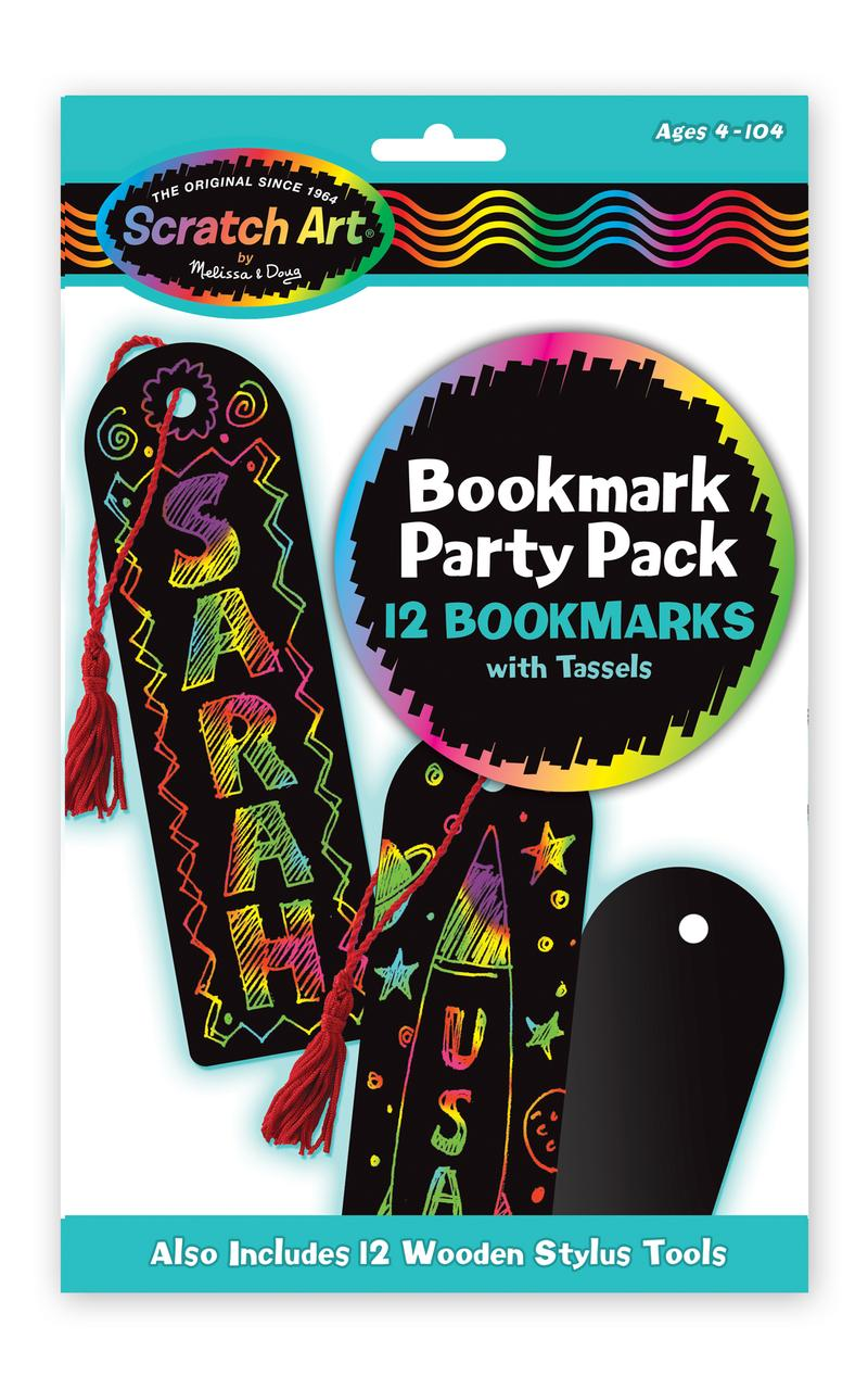 Bookmark Scratch Art Party Pack