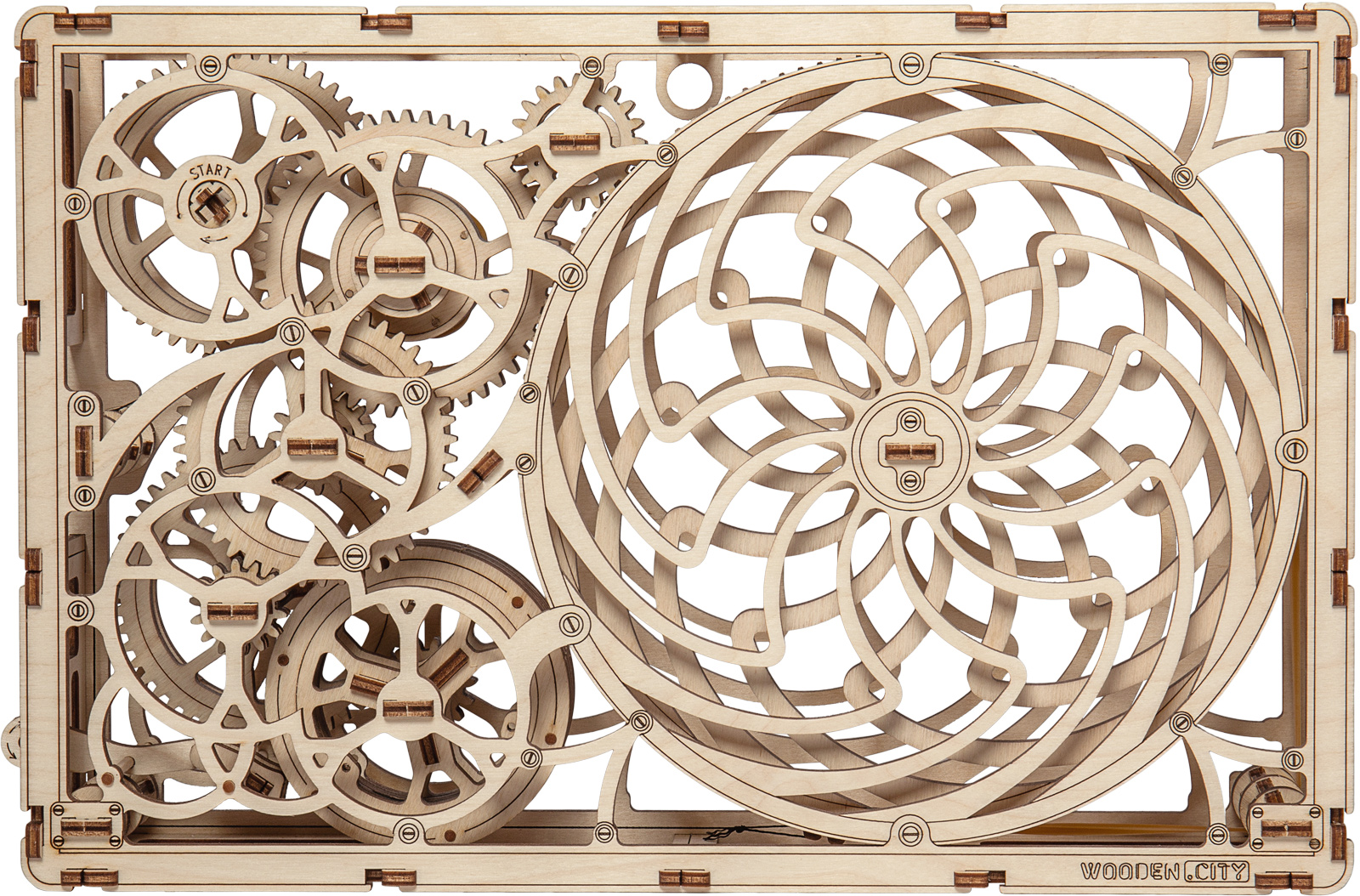 Kinetic Picture Wooden Jigsaw Puzzle