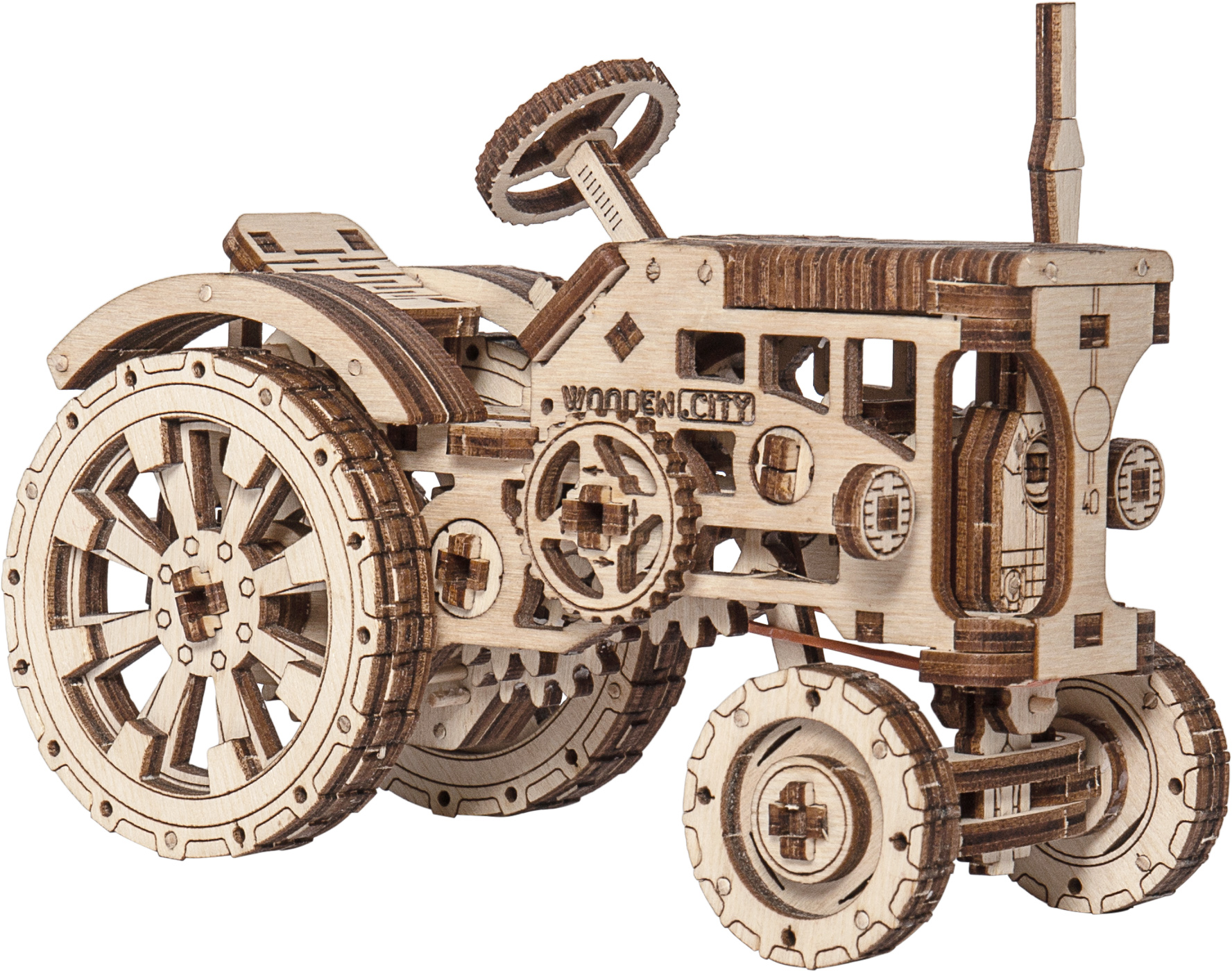 Tractor Vehicles Wooden Jigsaw Puzzle