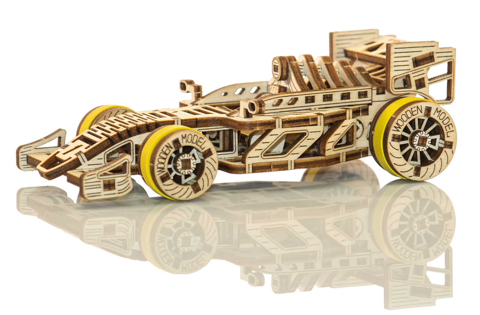 Bolid Planes Wooden Jigsaw Puzzle