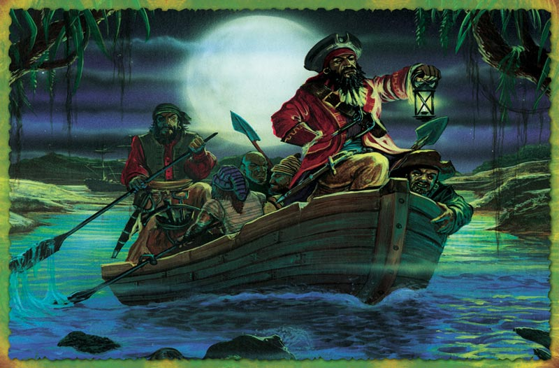 Black Beard Fantasy Jigsaw Puzzle