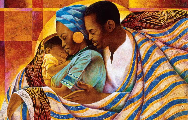 Precious Love African American Jigsaw Puzzle