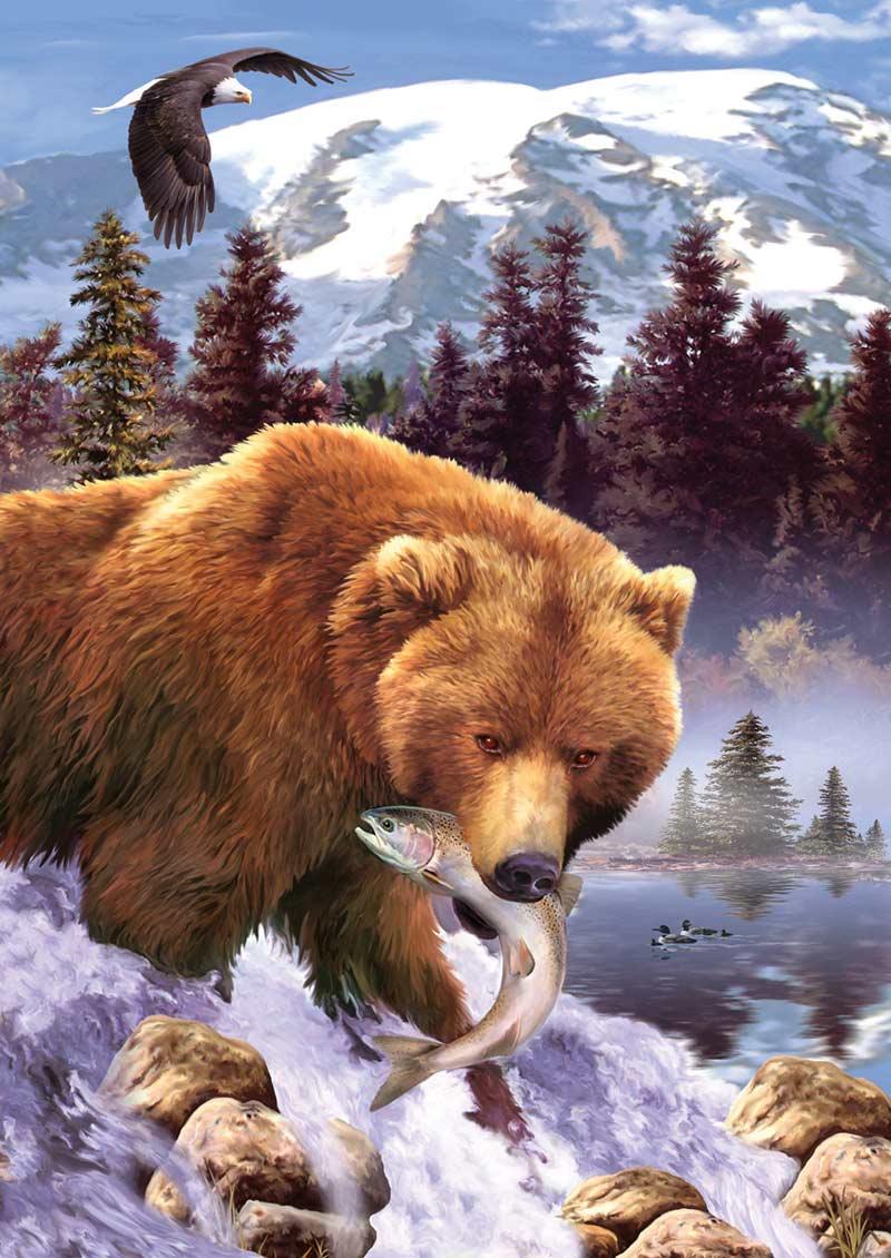 Grizzly Bear Jigsaw Puzzle Puzzlewarehouse Com