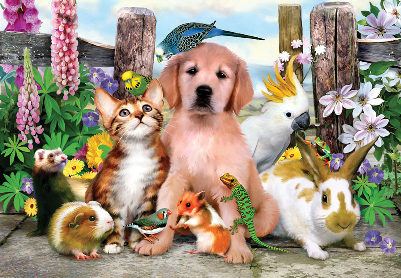 Good Companions Other Animals Jigsaw Puzzle