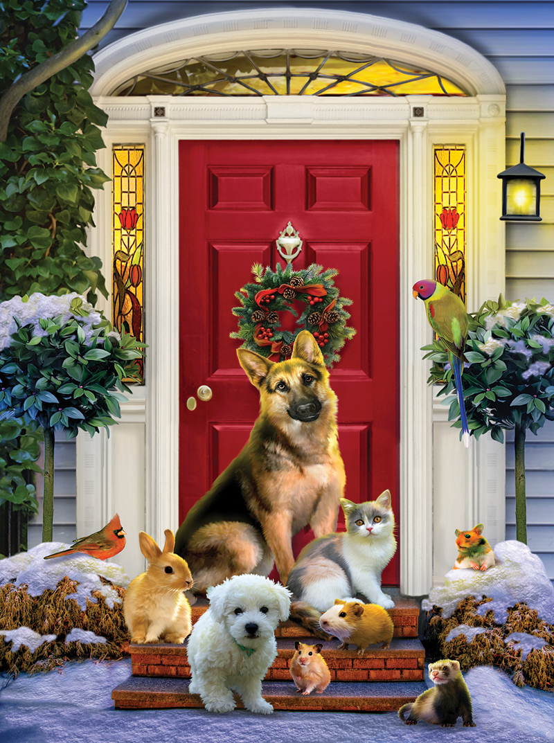 The Welcoming Committee Animals Jigsaw Puzzle