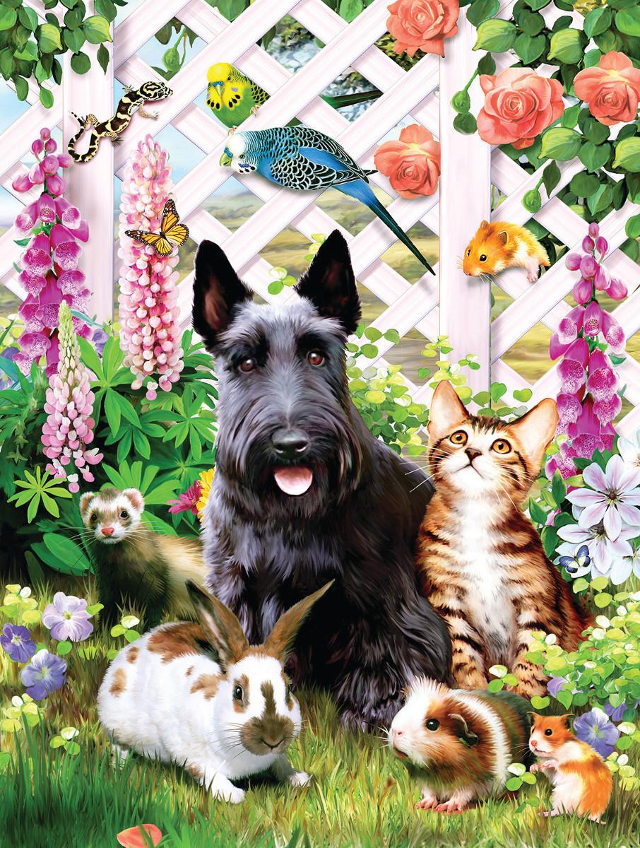 Garden Pals Animals Jigsaw Puzzle