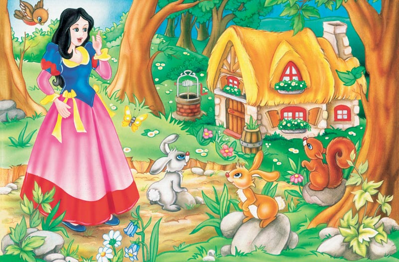Snow White Princess Children's Puzzles