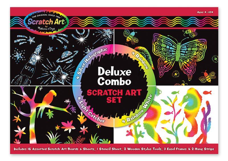 Scratch Art Set Deluxe Combo
