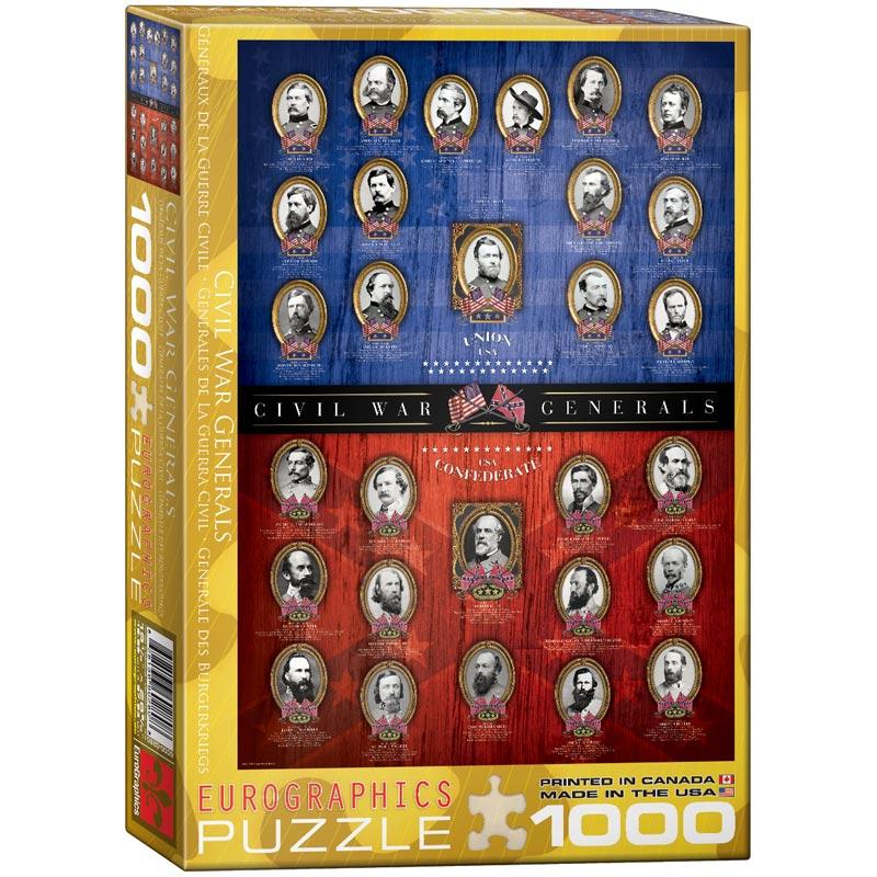 Civil War Generals History Jigsaw Puzzle