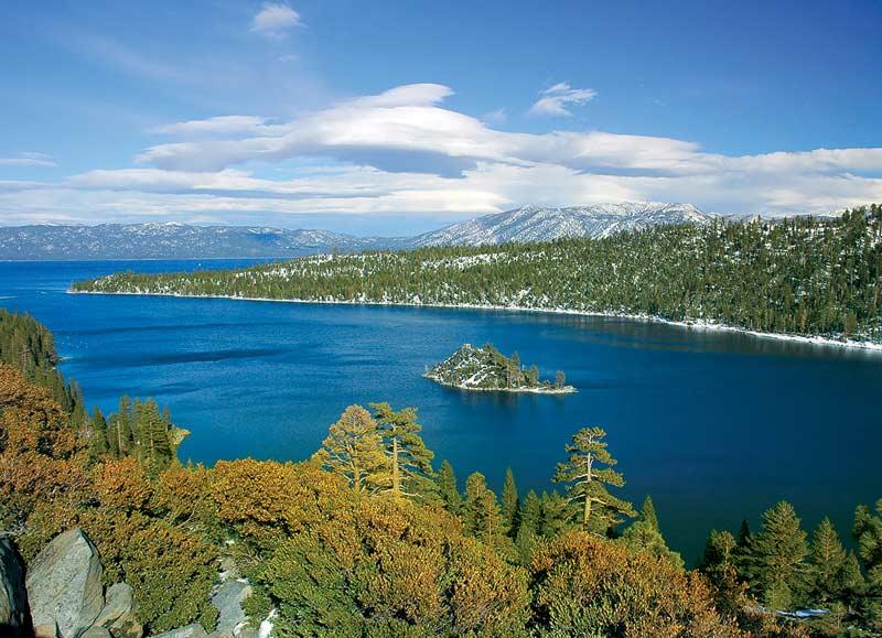 Emerald Bay - Lake Tahoe, CA Mountains Jigsaw Puzzle