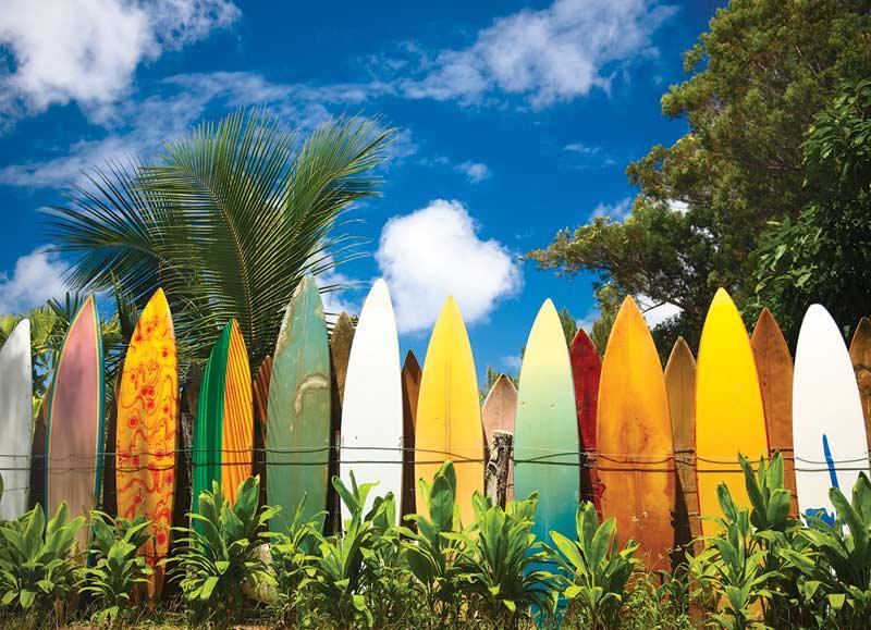 Surfer's Paradise, HI Sports Jigsaw Puzzle