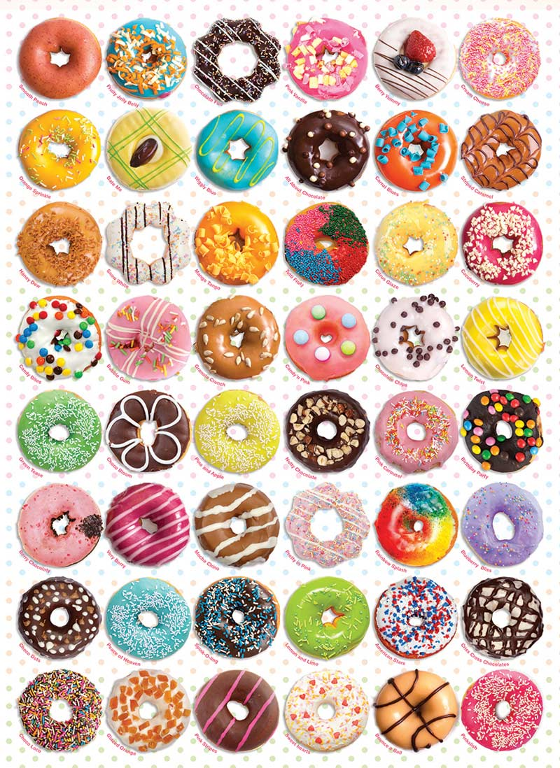 Donuts Food and Drink Jigsaw Puzzle