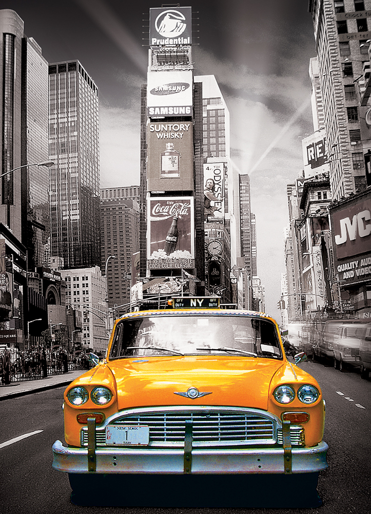 New York City Yellow Cab Landmarks / Monuments