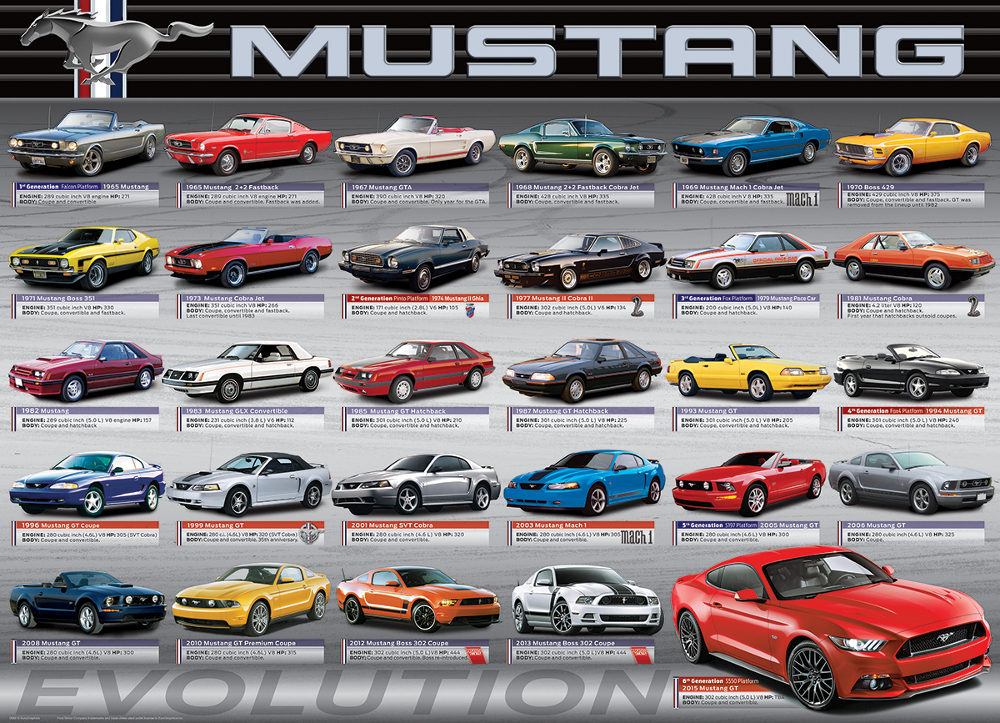 Ford Mustang Evolution 50th Anniversary Cars