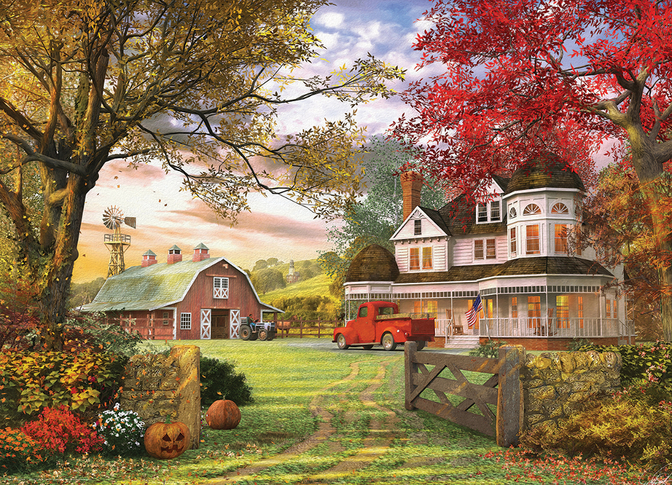 Old Pumpkin Farm Countryside
