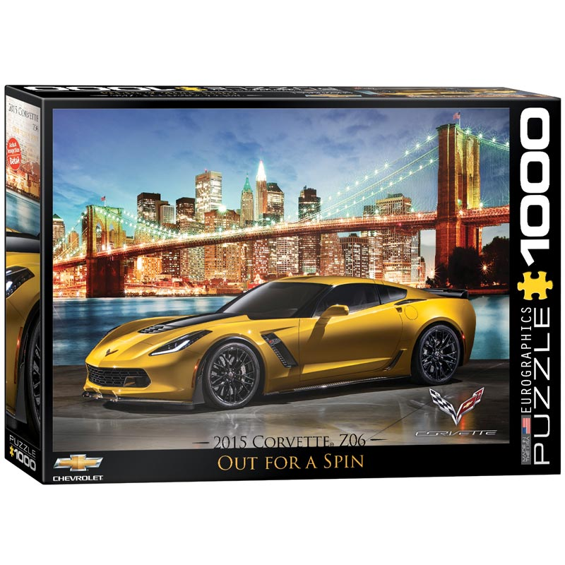 Out for a Spin (2015 Chevrolet Corvette Z06) Cars Jigsaw Puzzle