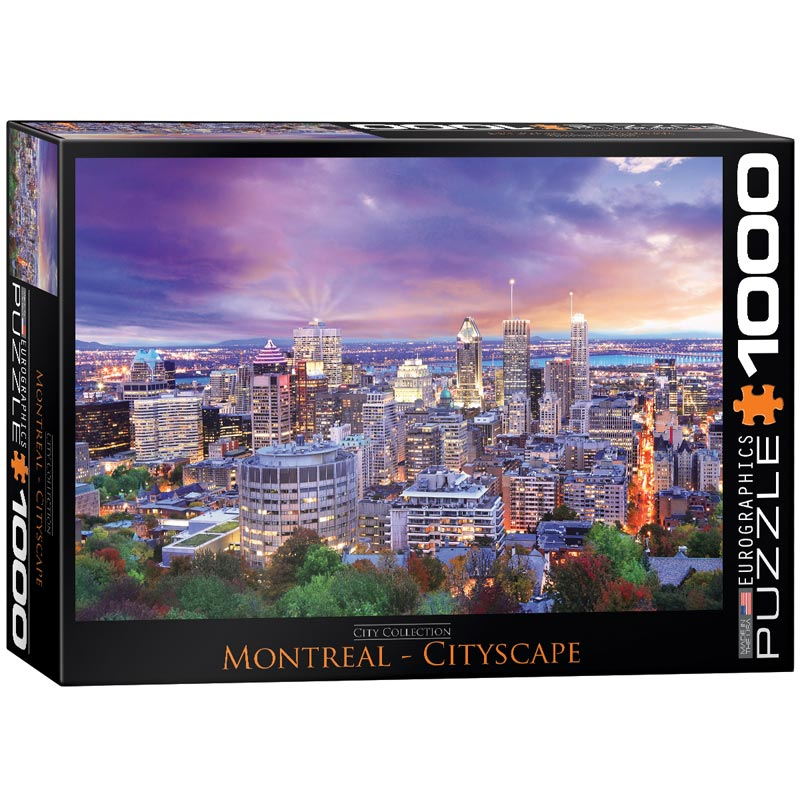 Montreal - Scratch and Dent Landmarks / Monuments Jigsaw Puzzle