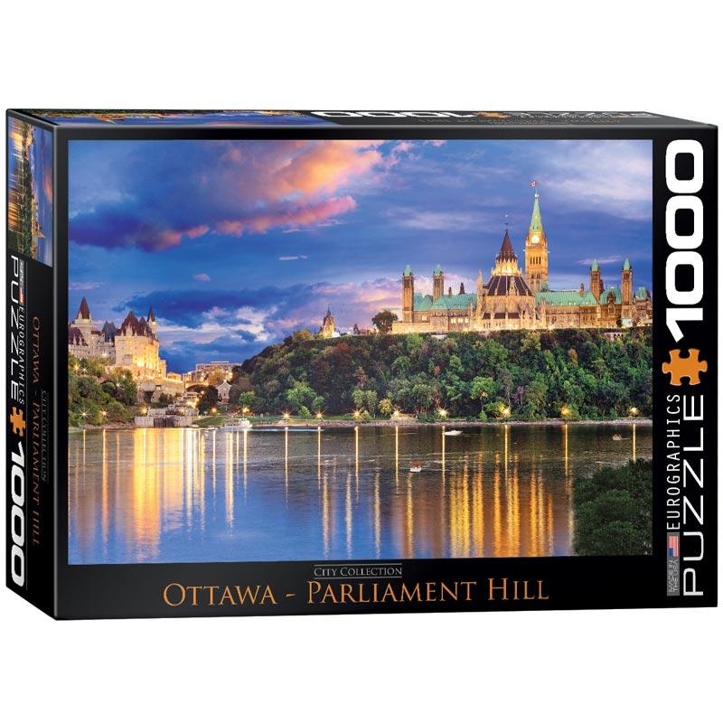 Ottawa - Parliament Hill Landmarks / Monuments Jigsaw Puzzle