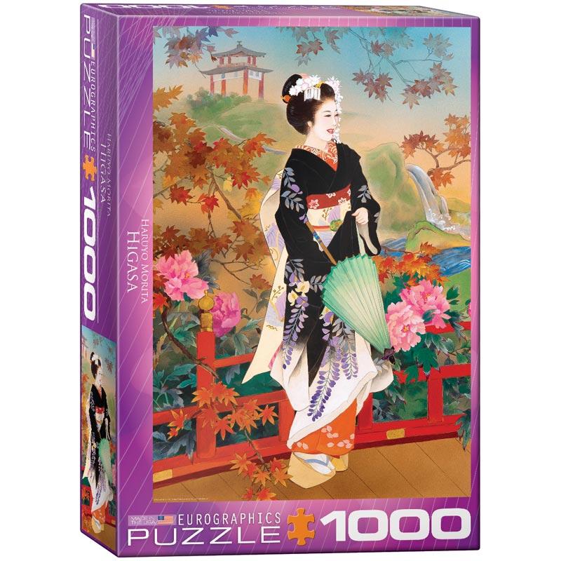 Higasa Flowers Jigsaw Puzzle