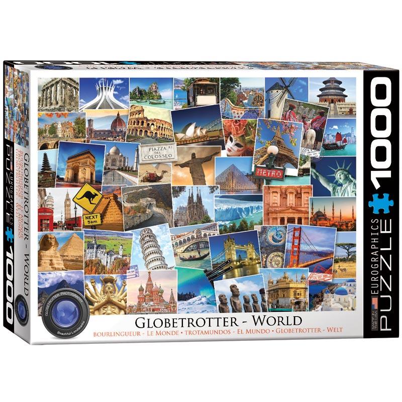World Travel Jigsaw Puzzle