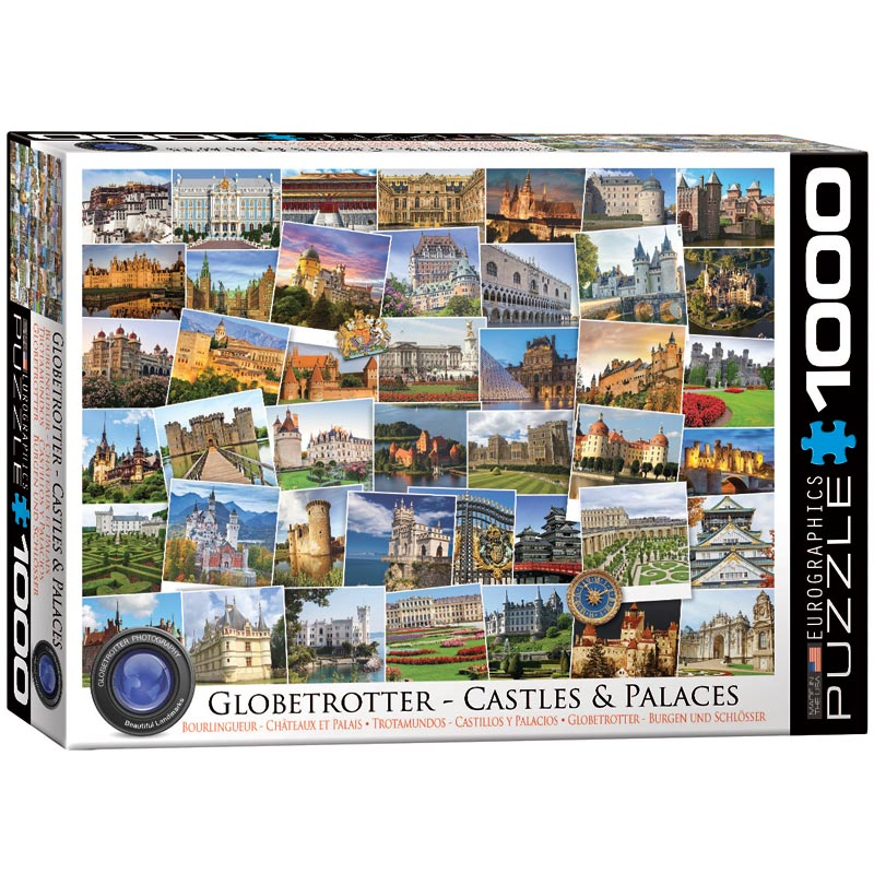 Castles & Palaces Travel Jigsaw Puzzle
