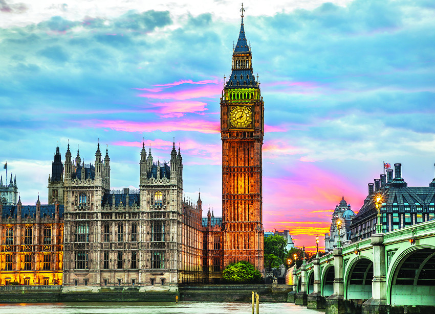 London - Big Ben Landmarks / Monuments