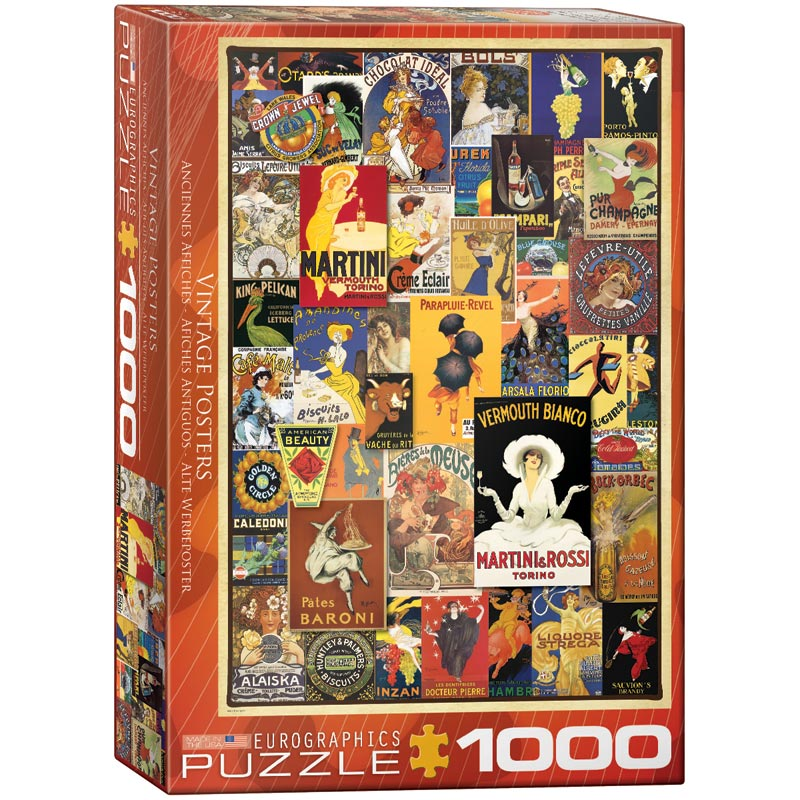 Variety - Scratch and Dent Nostalgic / Retro Jigsaw Puzzle