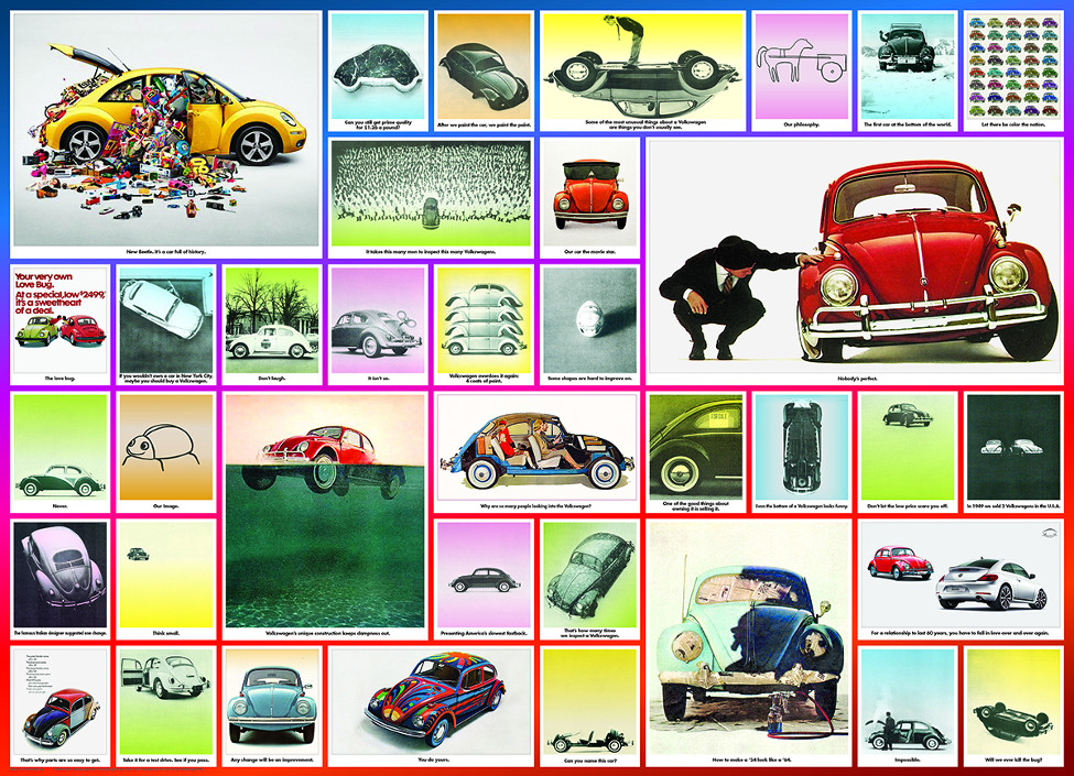 We've Done Things - VW Beetle Cars Jigsaw Puzzle