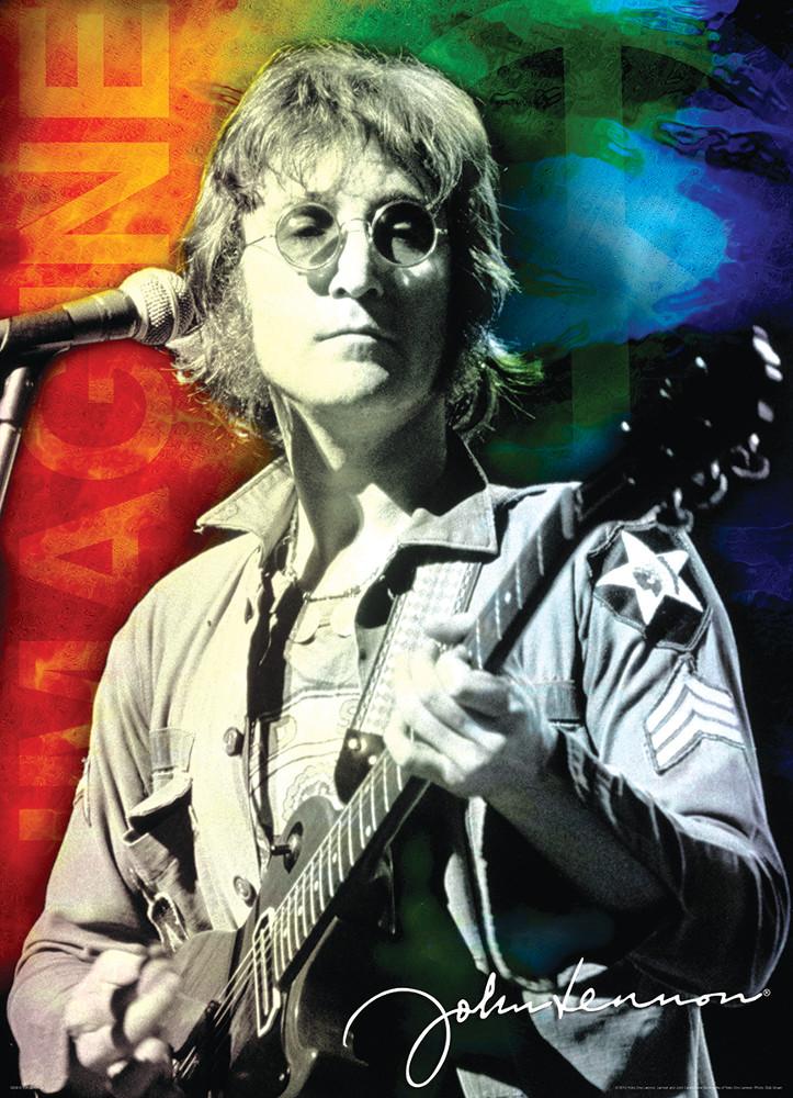 John Lennon Portrait Famous People Jigsaw Puzzle