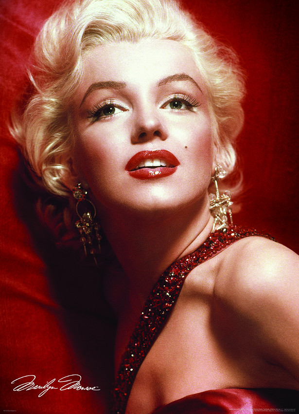 Marilyn Monroe by Slam Shaw Famous People