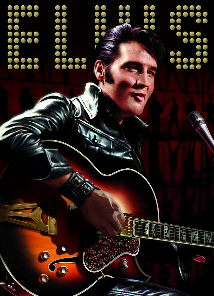 Elvis Portrait Famous People Jigsaw Puzzle
