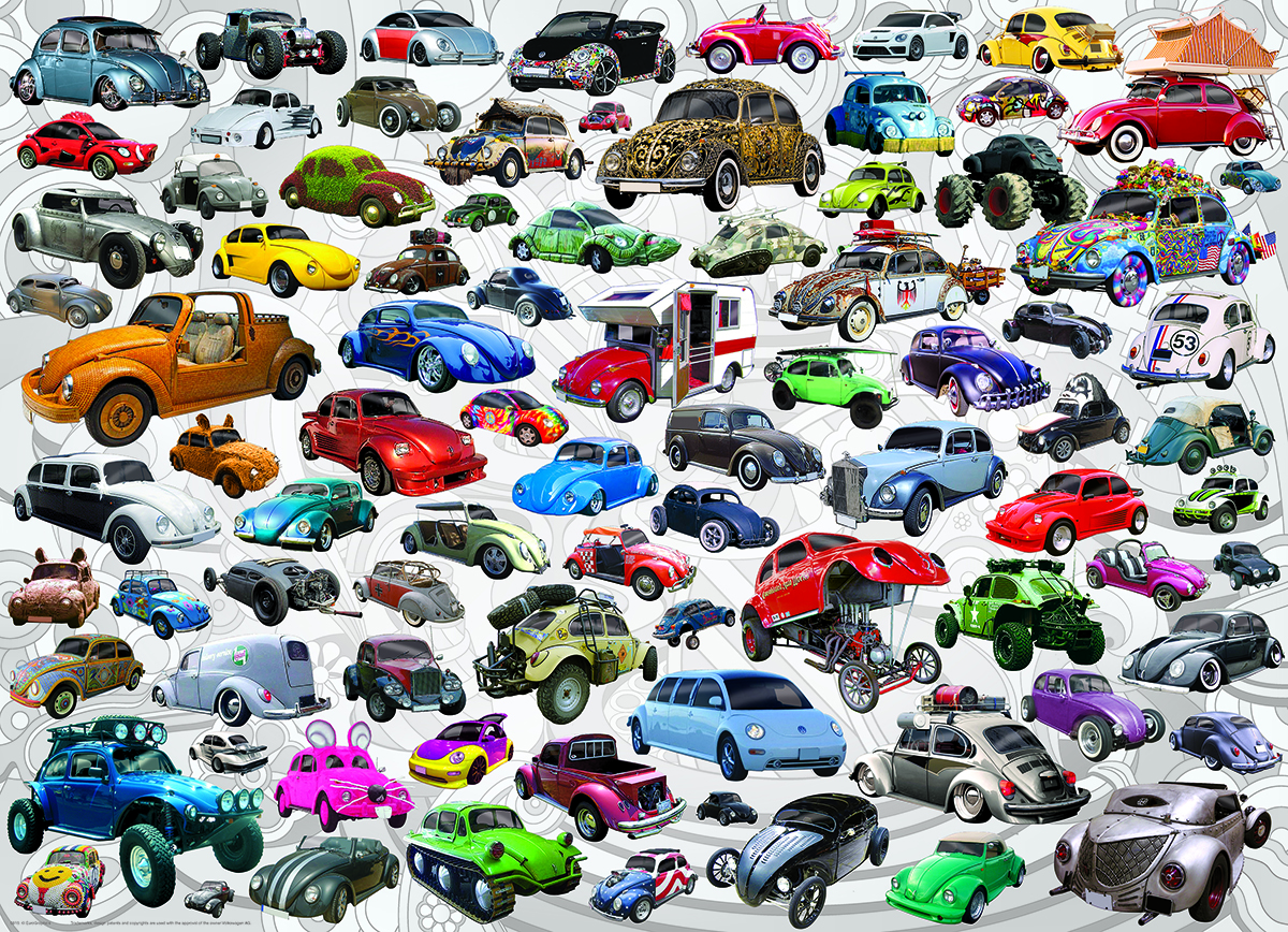 What's Your Bug? - VW Beetle - Scratch and Dent Cars Jigsaw Puzzle