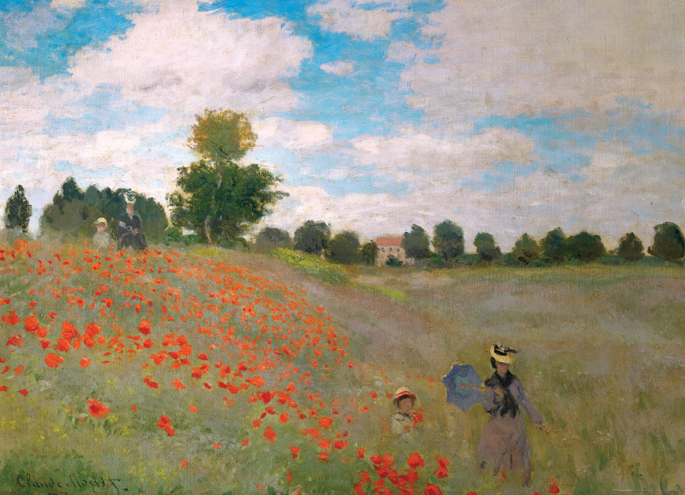 The Poppy Field Fine Art Jigsaw Puzzle