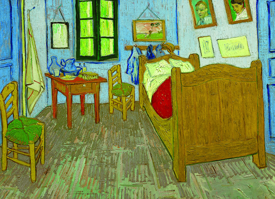 Bedroom in Arles Post Impressionism Jigsaw Puzzle