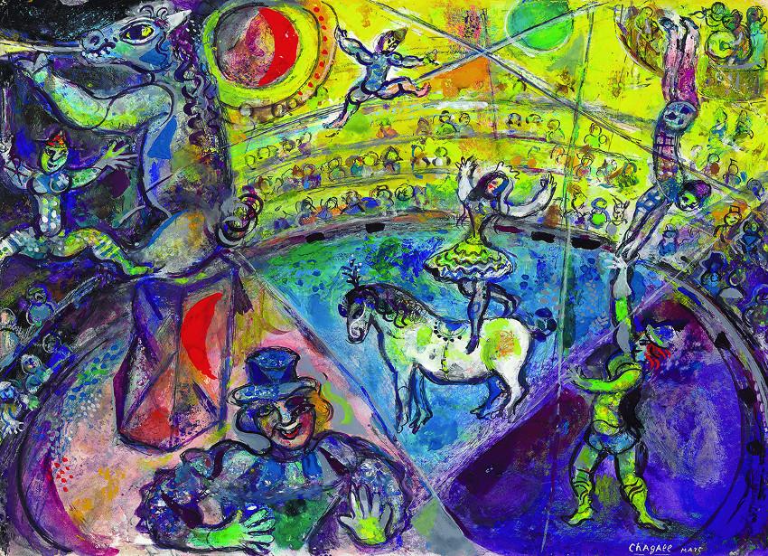 The Circus Horse Contemporary & Modern Art
