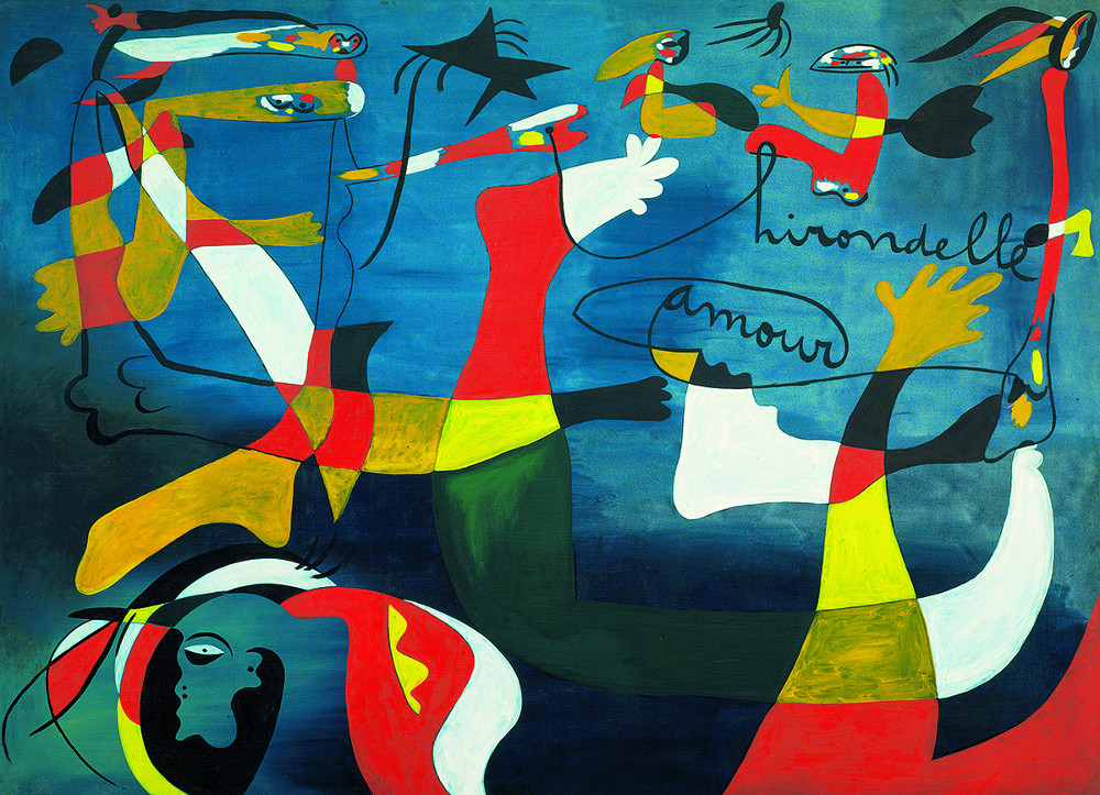 Joan Miro - Swallow-Love