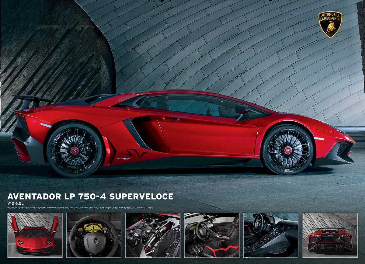 Lamborghini Aventador 750-4 SV Cars