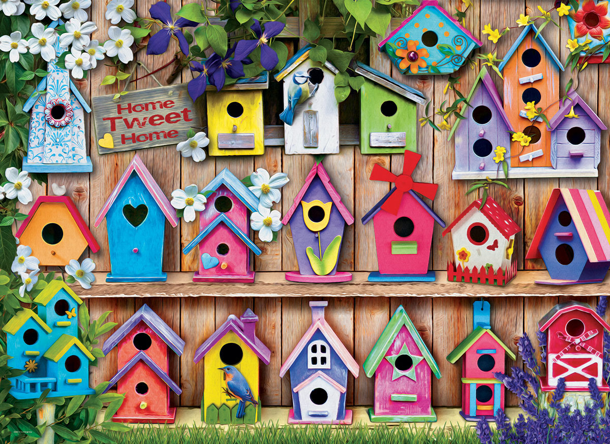 Home Tweet Home - Scratch and Dent Spring Jigsaw Puzzle