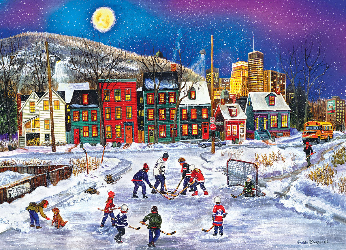 After School Fun Winter Jigsaw Puzzle
