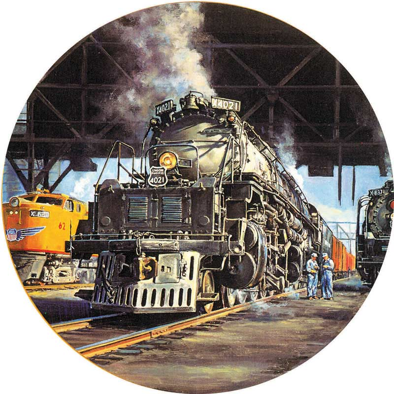 The Big Boy Trains Jigsaw Puzzle
