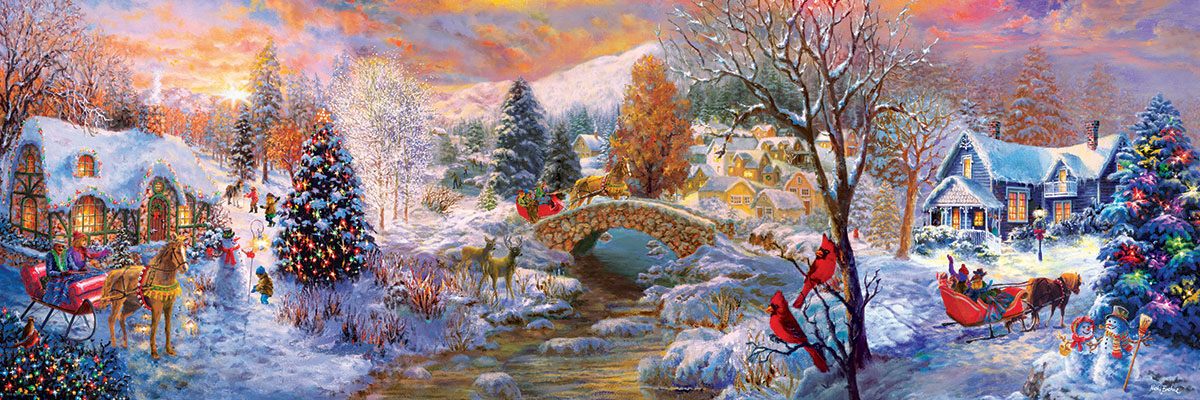 To Grandma's House We Go Christmas Jigsaw Puzzle